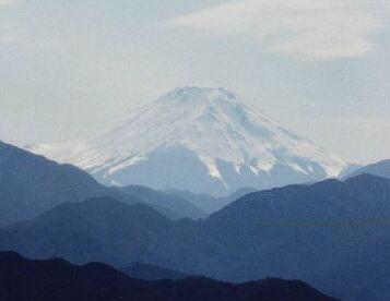 Mt. Fuji in early spring