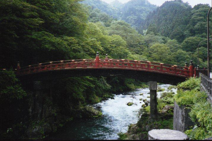 Rainbow Bridege in Nikko