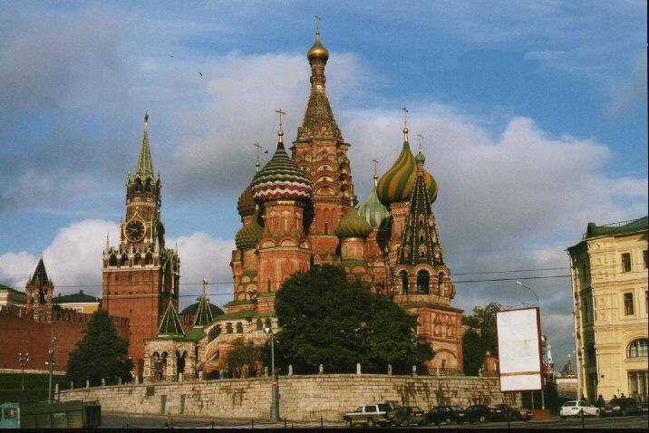 St Basil's and the Kremlin